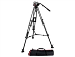 Rent Manfrotto 546B Tripod and 504 Video Head