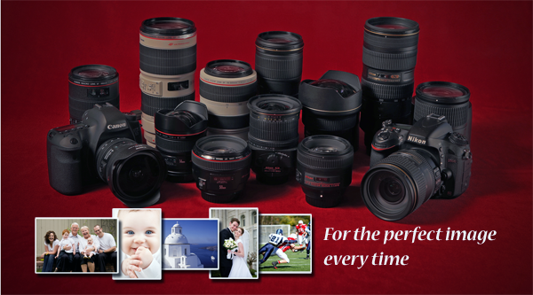 Rent Canon and Nikon lenses and cameras from LensGiant